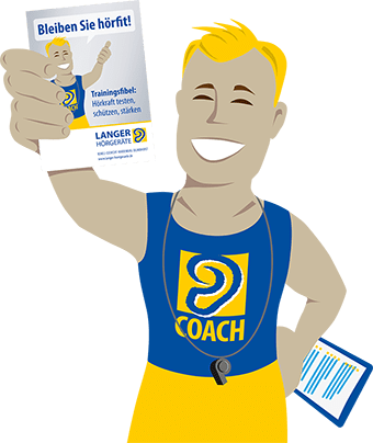 Langer Ohren-Coach Illustration